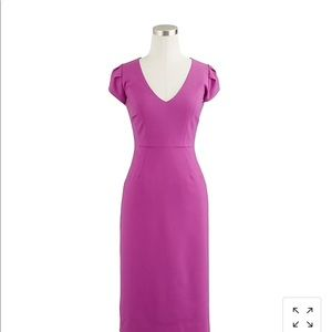 Jcrew wool director dress size 8